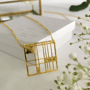 Collier plaqué or grandiose